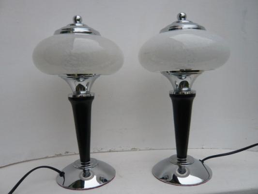 Vente lampe art d co toutes les lampes des ann es 1930 for Lampe de chevet champignon